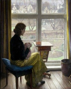 Harold Knight, A Window in St John's Wood / Persephone Books