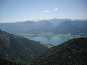 perfect view Wolfgangsee